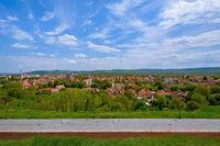 View on Alba Iulia, Romania