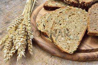 Verschiedene Brotsorten