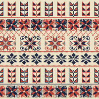 Palestinian embroidery pattern 42