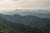 Hills scenery in northern Thailand