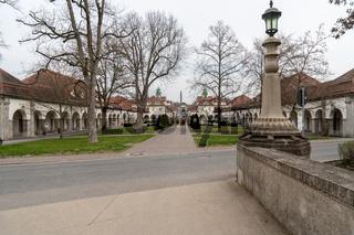 Jugendstil Kuranlage Sprudelhof, Bad Nauheim