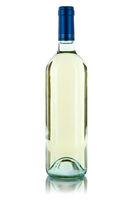 Wein Flasche Weinflasche Weißwein Weisswein freigestellt Freisteller