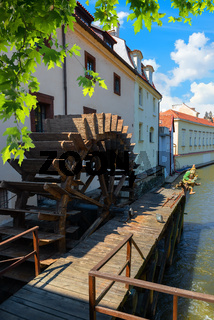 Praha wooden water