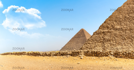 Giza and desert