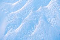 Snow structures, Soeroeya Island, Finnmark, Norway
