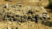 Ruin of old historic Archaeological excavations at Adulis, Eritrea