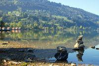 The Lake Alpsee 001. Germany