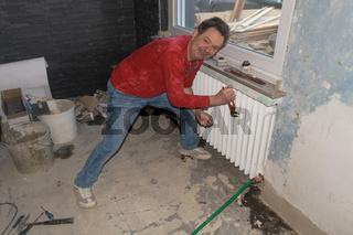 Plumber or installer