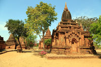Temple field in Bagan
