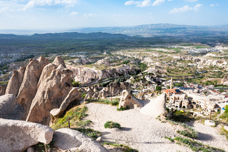 viewpoint over Uchisar village and valley