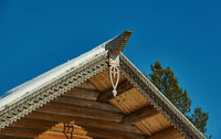 Russian Traditional wooden architecture - Chudsky konek