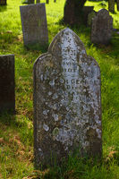 Tombstone - St Teath - Cornwall