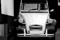 Old Citroën 2CV classic car