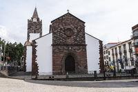 Se catedral de Nossa Senhora, cathedral, Funchal, Madeira, Portugal, Europe