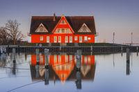 House at the marina in Vieregge - Ruegen