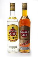 "White and dark rum ""Havana Club"", produced in Cuba"