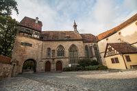 Rothenburg ob der Tauber, St. Wolfgangs Church Germany