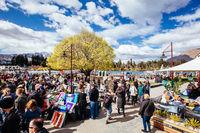 Queenstown Farmers Market in New Zealand