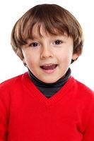 Kind Junge Portrait Porträt Gesicht lachen isoliert Freisteller freigestellt
