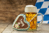 big beer mug at Oktoberfest in Munich