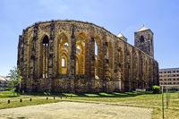 Ruin of Saint Nikolai, Zerbst/Anhalt, Saxony-Anhalt, Germany