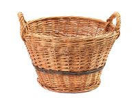 Simple basket on white
