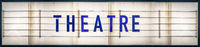 Grungy Theatre Marquee Sign