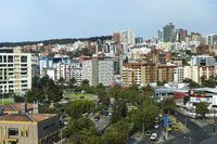 New residential areas in  Quito, capital of Ecuador