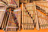 pan flutes of Ecuador