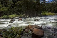 River rapids in the wilderness