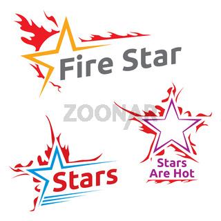 Symbols of burning stars