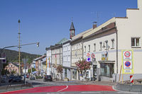 town square in Zwiesel