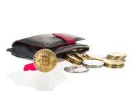 Bitcoins in wallet