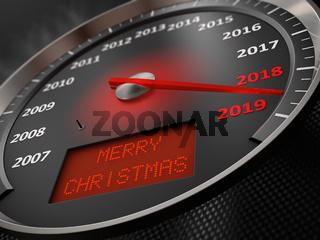 speedometer  Merry Christmas