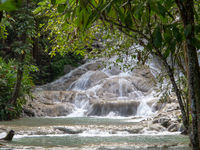 Waterfall at Dunns River