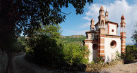 Panoramic view of the church