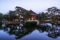 gyeonghoeru pavilion at night