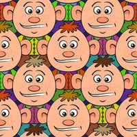 Baby Boy Seamless Pattern