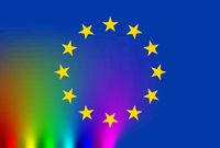europa bunt vielfalt abstrakt regenbogen