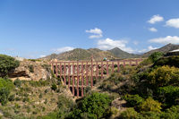 Eagle Aqueduct in Nerja, Spain