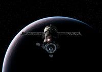 Spacecraft Orbiting Earth