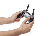 Radio remote control in hands