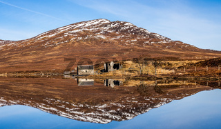 Boathouse on Loch a' Bhraoin