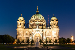 Berlin Cathedral (German: Berliner Dom) is a church in Berlin, Germany
