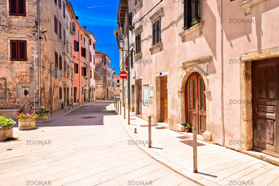 Mediterranean stone street of Vodnjan view