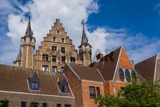The Vleeshuis (Butcher Hall) in Antwerp Belgium