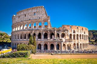 Colosseum of Rome scenic view