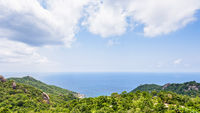 High angle view at Koh Tao
