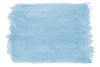 hand-painted blue watercolor texture background