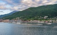 Meljine on Bay of Kotor in Montenegro